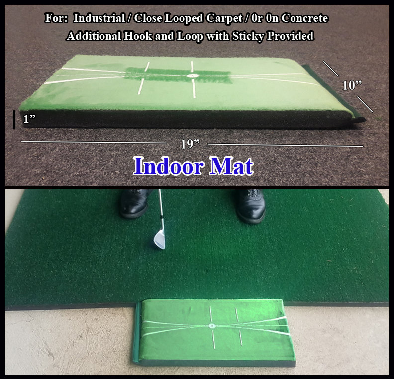 Indoor Golf Impact Training Mat