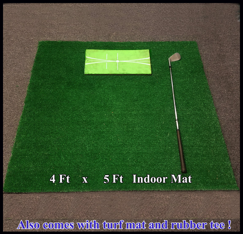 4'x5' with Three Mat Set Golf Impact Training Mats