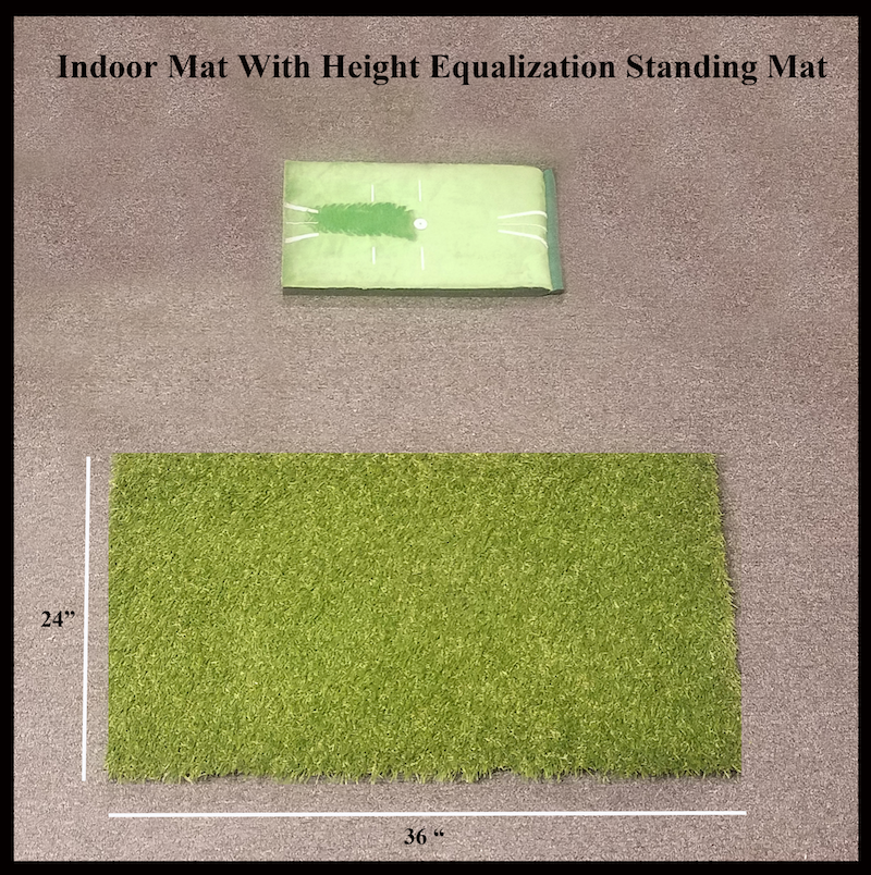 Indoor Mat with Foot stand for Height Equalization