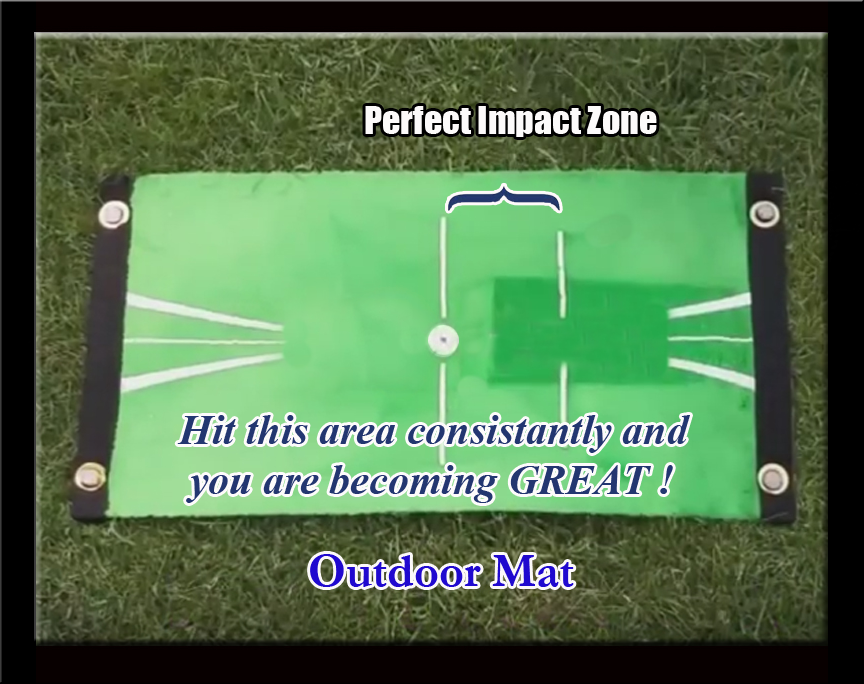 Outdoor Impact Golf Training Mat