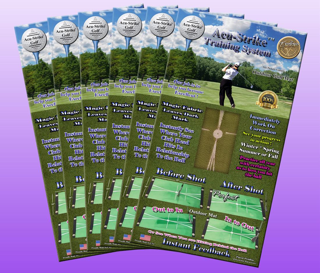 6 Acu-Strike Outdoor Impact Training Mat ( Gift Pack ) $35.49/Golf Mat